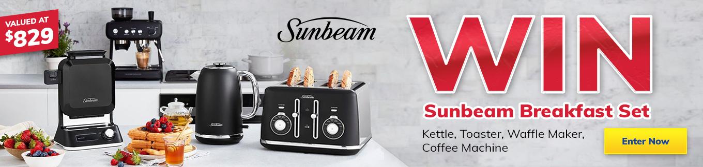 2021 Giveaway Sunbeam Appliance Pack Desktop
