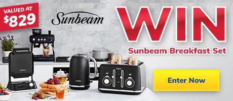 2021 Giveaway Sunbeam Appliance Pack Slider