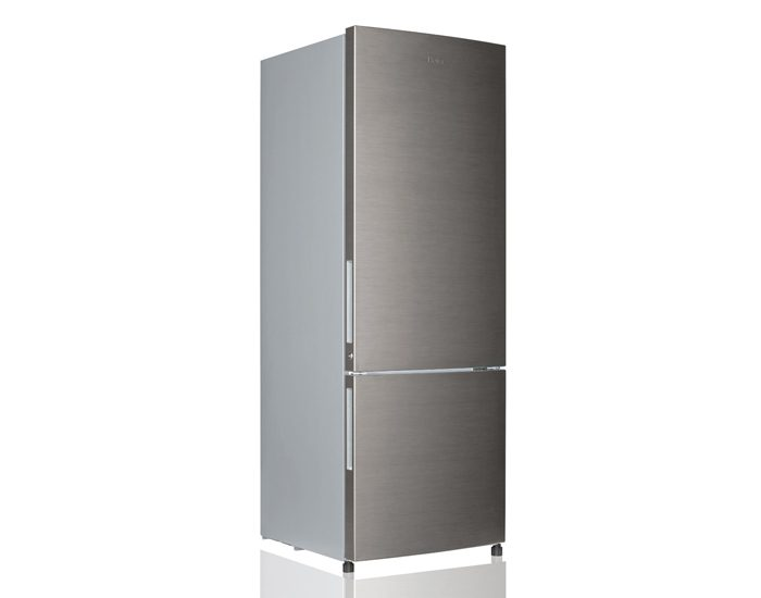 Haier HBM340SA1 340L Silver Bottom Mount Fridge