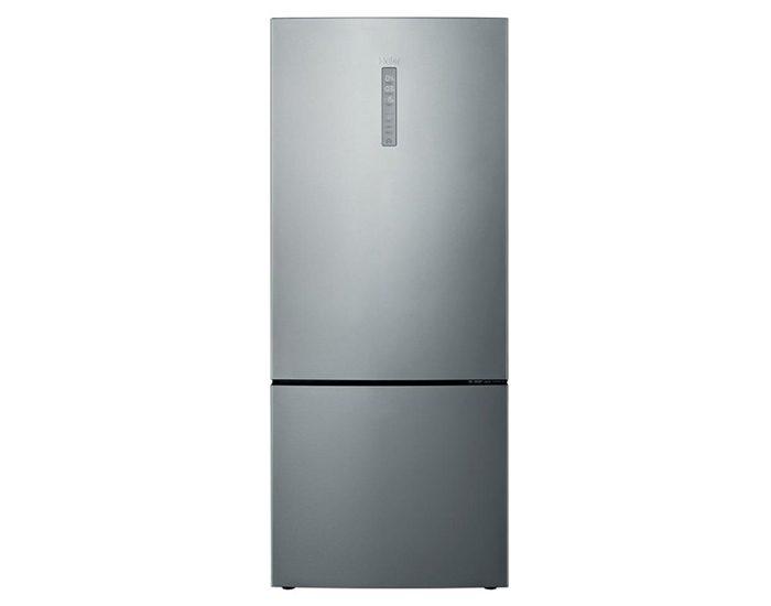 Haier HBM450SA1 450L Silver Bottom Mount Refrigerator