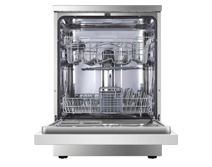 Haier HDW13G1X 60cm Stainless Steel Freestanding Dishwasher