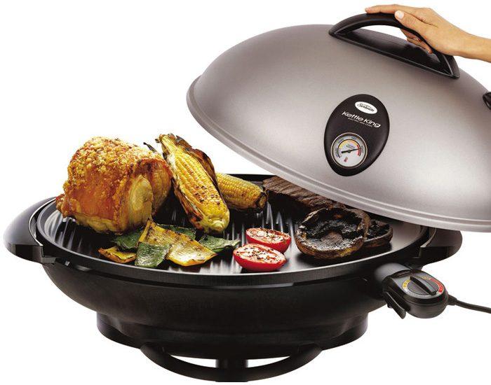 Sunbeam HG6600B Kettle King Electric BBQ