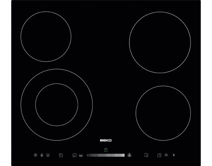Beko HIC64502T1 60cm Electric Ceran Cooktop