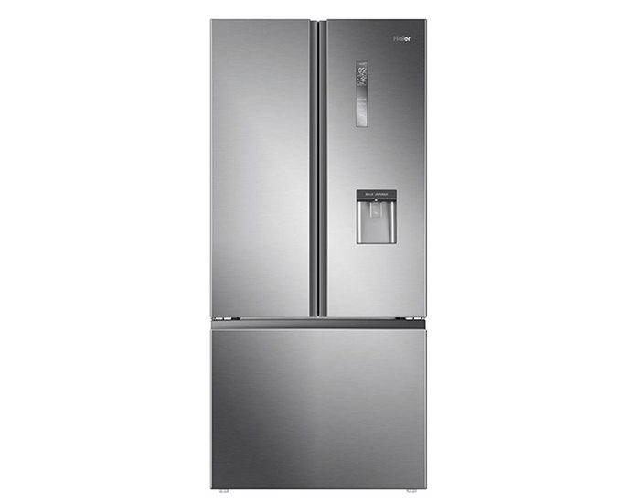 Haier HRF520FHS 514L Satin Silver French Door Refrigerator