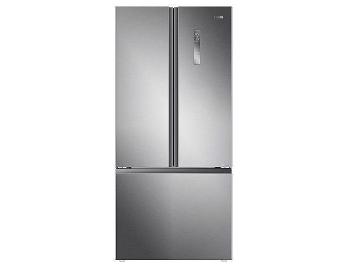 Haier HRF520FS 514L Satin Silver French Door Refrigerator