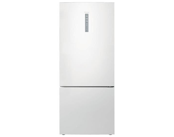 Haier HBM450WH1 450L White Bottom Mount Fridge Main