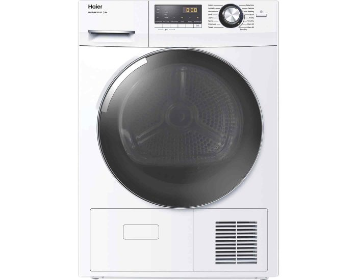 Haier HDHP80A1 8kg Heat Pump Dryer Main