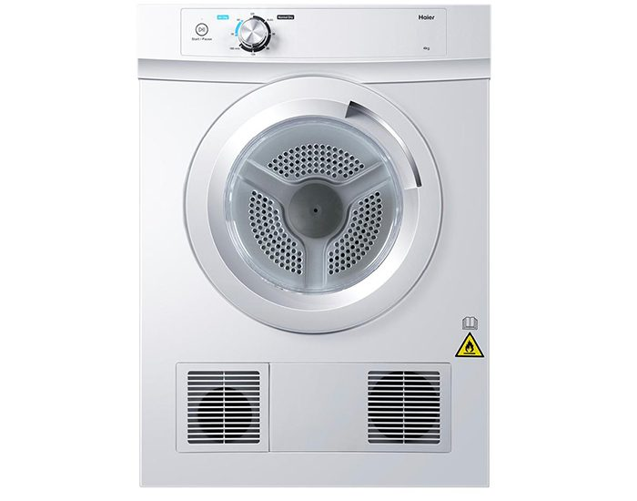 Haier 4Kg Front Load Vented Dryer