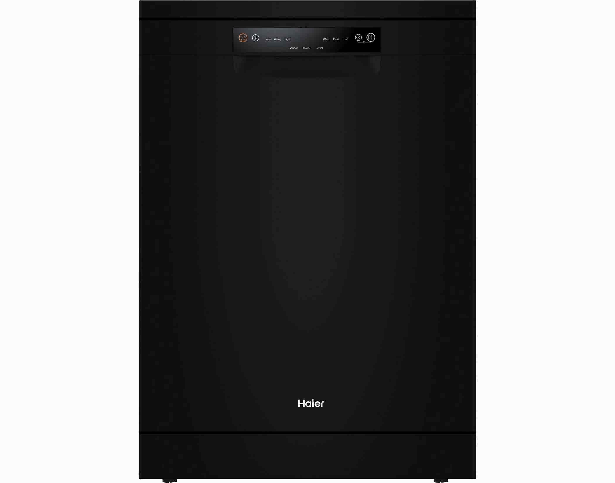 Haier HDW15V2B2 15 Place Setting Freestanding Dishwasher in Black