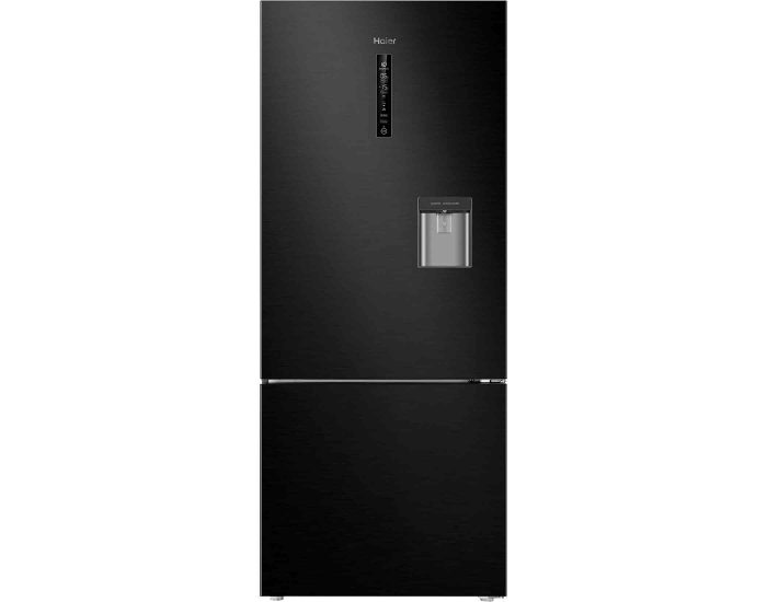 Haier HRF450BHC2 450L Bottom Mount Refrigerator in Black Main