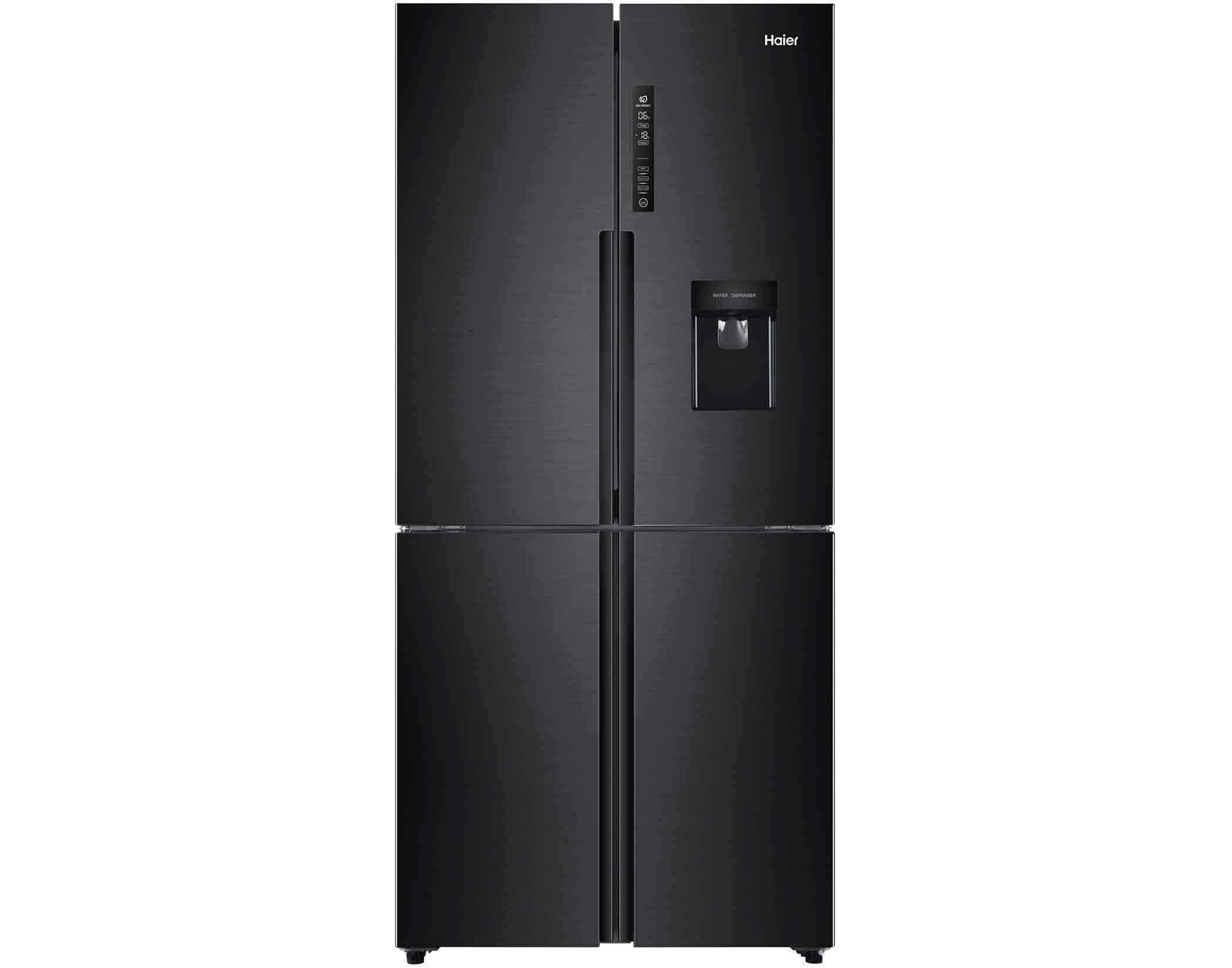 Haier HRF516YHC 516L Black French Door Refrigerator Main