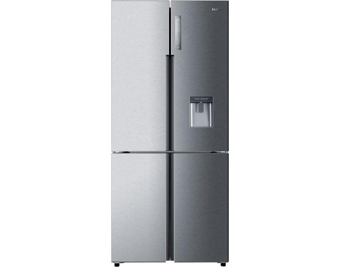 Haier HRF565YHS 514L French Door Refrigerator in Satina