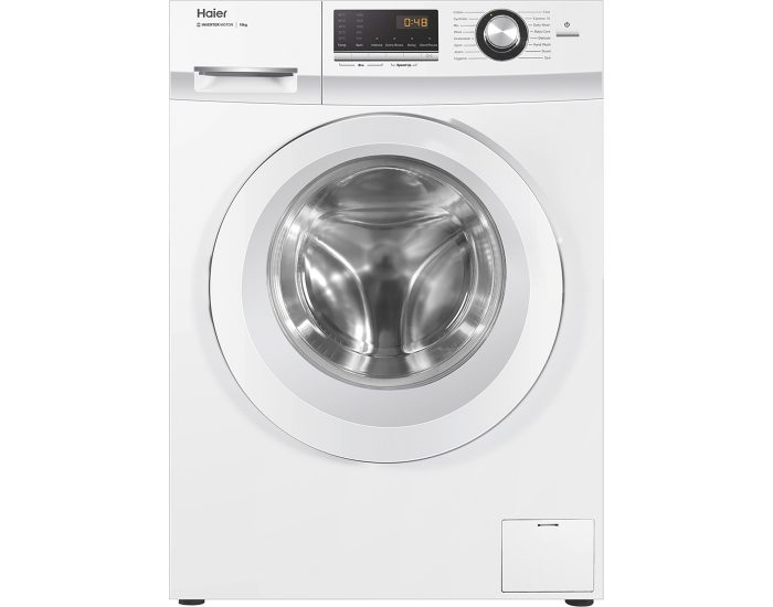 Haier HWF10BW1 10kg Front Load Washer in White Main