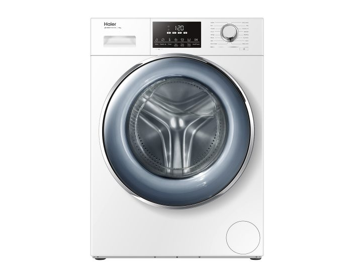 Haier HWF10DW1 10Kg Front Load Washer in White Main