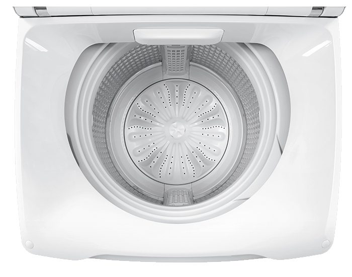 Haier HWT10MW2 10KG Top Load Washer - Drum View