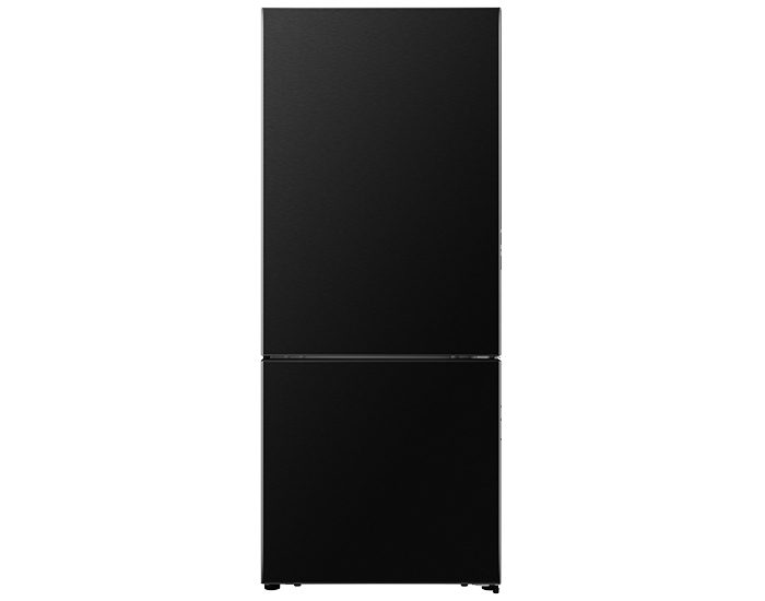 Hisense HR6BMFF453C 453L Black Bottom Mount Fridge Closed