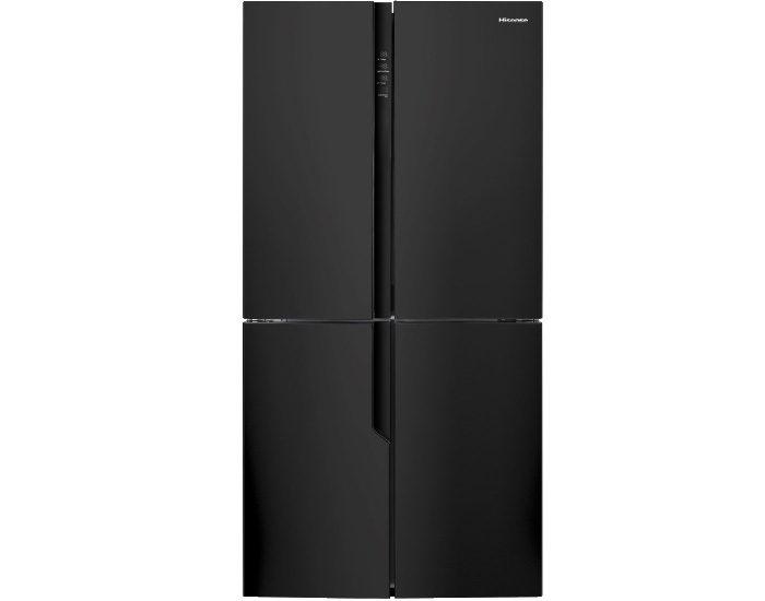 Hisense HR6CDFF512C 512L Black 4 Door Fridge Main