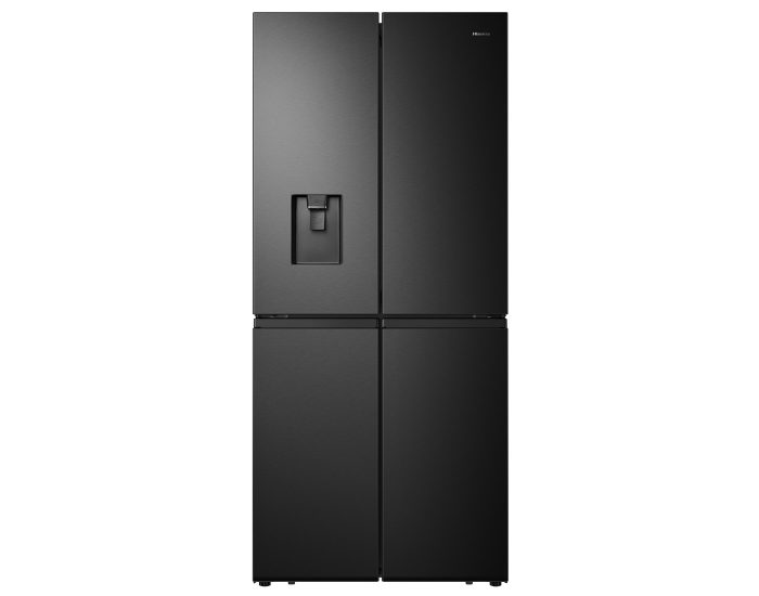 Hisense HRCD512BW 507L French Door Refrigerator in Black Steel Main