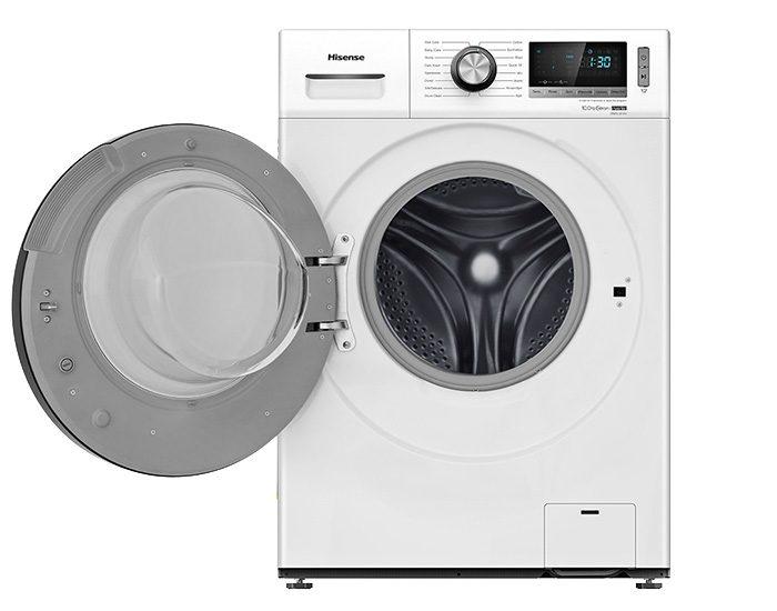 Hisense HWFL1014V 10KG Front Load Washer Open Door