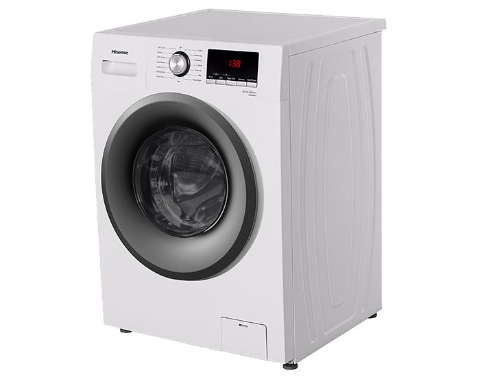 Hisense HWFM8012 8KG Front Load Washing Machine Angle