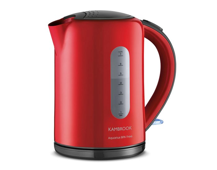Kambrook KAK60RED 2200W Aquarius Kettle - Red