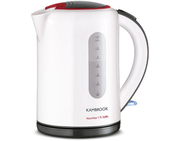 Kambrook KAK60WHT Aquarius 1.7 Litre Kettle - White