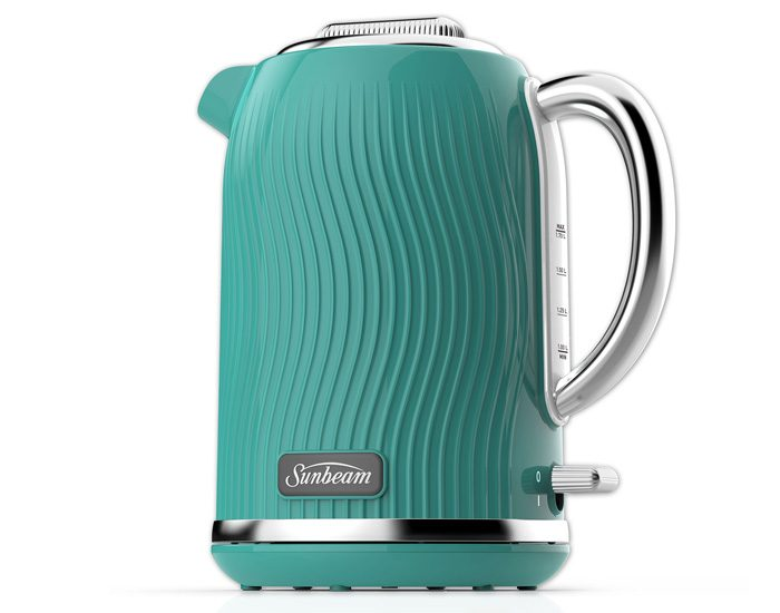 Sunbeam KE2500BS 1.7L Coastal Collection Kettle - Blue Seabed