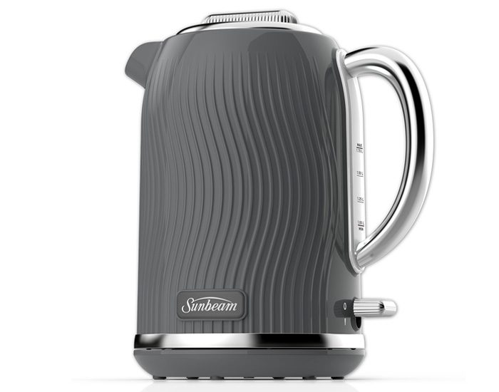 Sunbeam KE2500GO 1.7L Coastal Collection Kettle - Grey Ocean