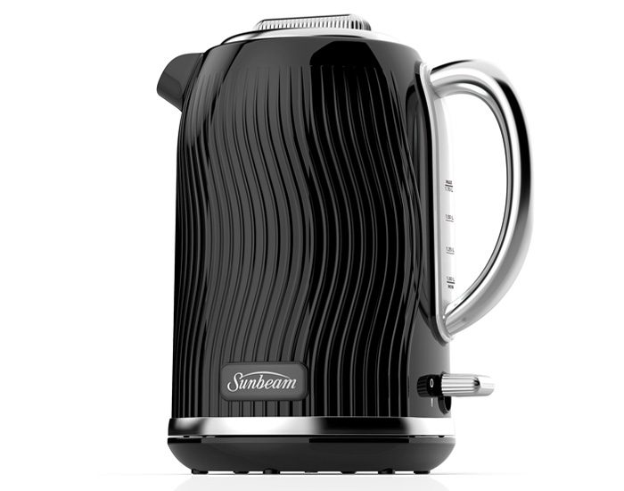 Sunbeam KE2500KP 1.7L Coastal Collection Kettle - Black Pearl