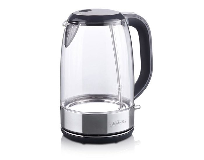 Sunbeam KE9500 1.7L Cool Blue Glass Kettle