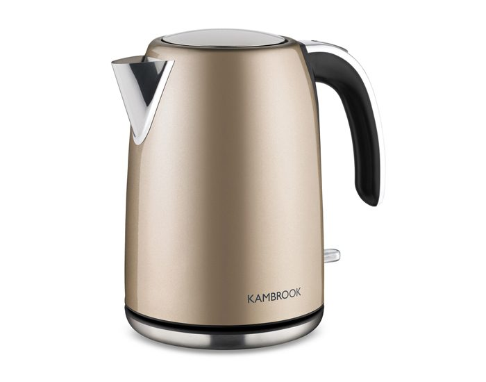 Kambrook KKE625CMP 1.7L BPA Free Stainless Steel Kettle - Champagne