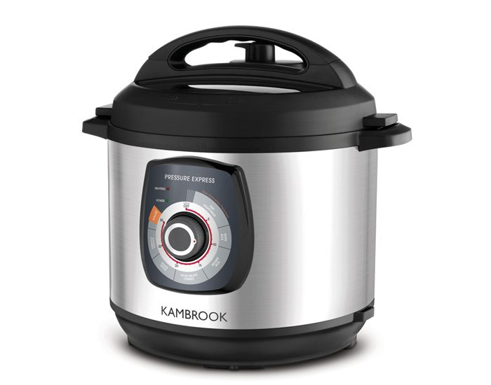 Kambrook KPR620BSS 6L Pressure Express Pressure Cooker