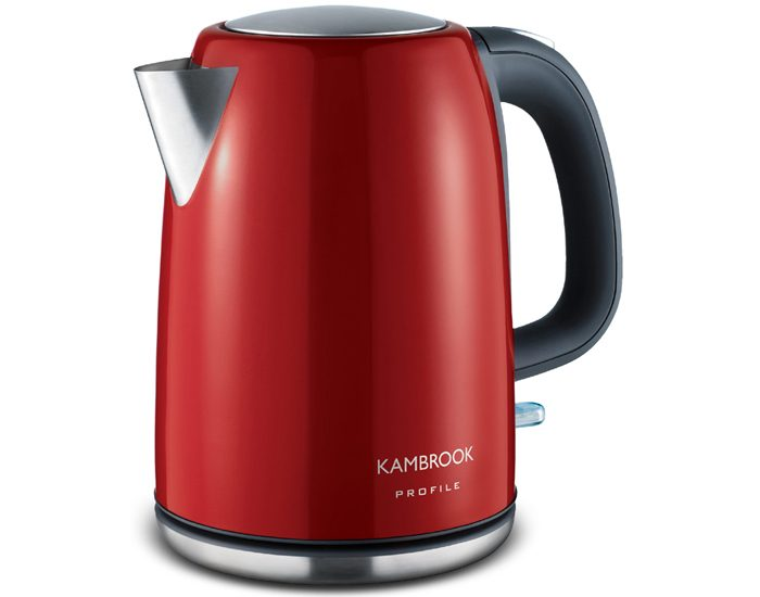 Kambrook KSK220RED 1.7L Rapid Boil Kettle - Red