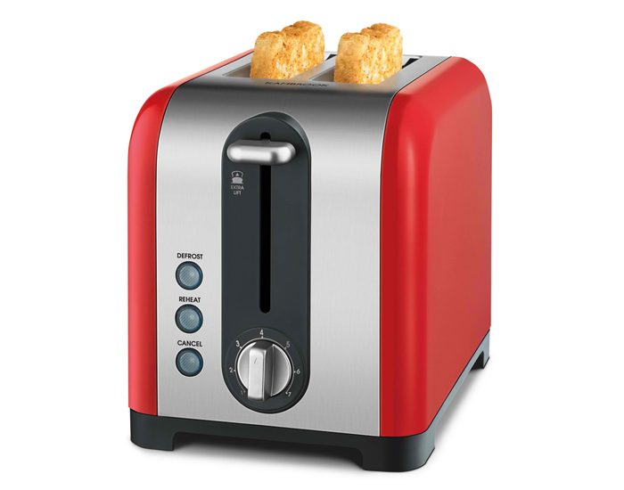 Kambrook KT260RED Profile 2 Slice Toaster - Red