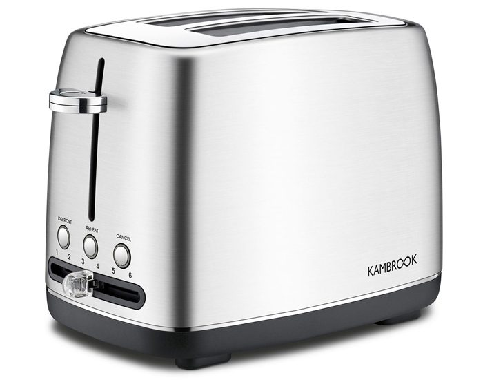 Kambrook KTA270BSS 2 Slice Stainless Steel Toaster
