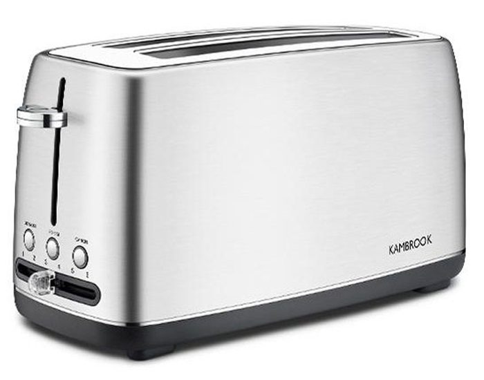 Kambrook KTA470BSS 4 Slice Long Slot Toaster