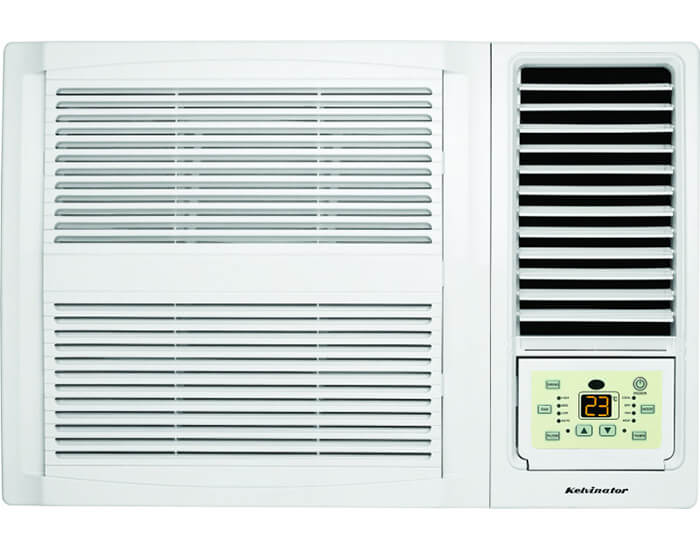 Kelvinator KWH20HRE 2.20kw Cooling/1.9kw Heating Reverse Cycle Box Airconditioner R32