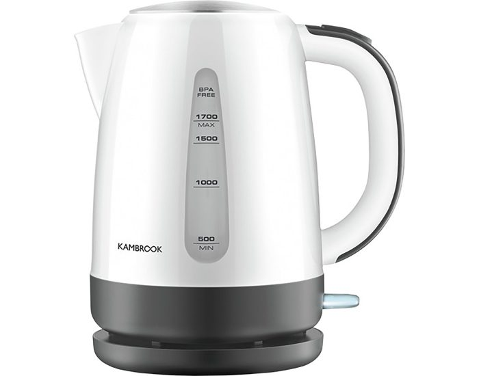 Kambrook KKE280WHT 1.7L White Pour With Ease Kettle main