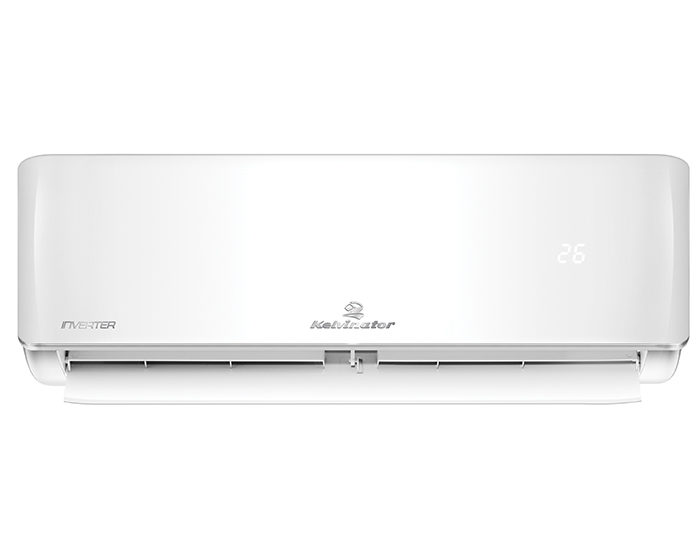 Kelvinator KSV25HWH 2.5Kw Reverse Cycle Split System Air Conditioner Front Open
