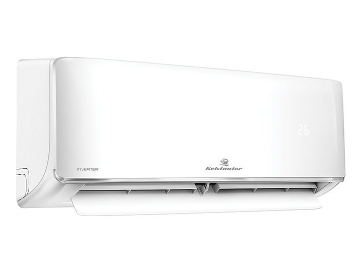 Kelvinator KSV90HWH 9.0 Kw Reverse Cycle Split System Air Conditioner Left Angle Open