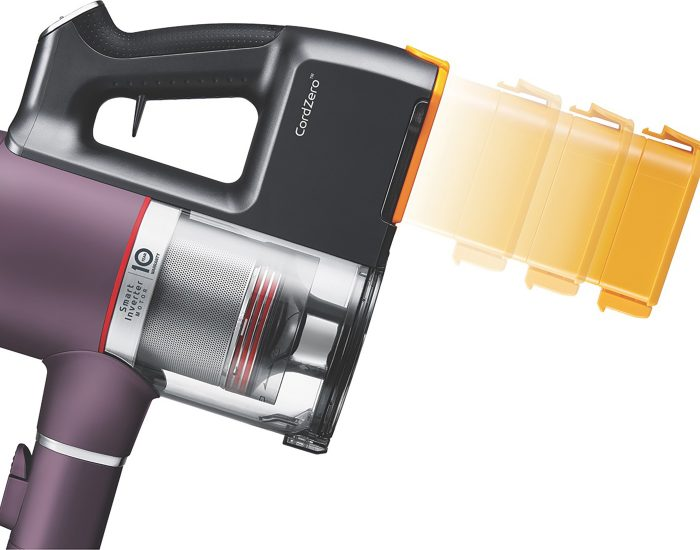 LG A9NEOMASTER CordZero Handstick with AEROSCIENCE Technology battery
