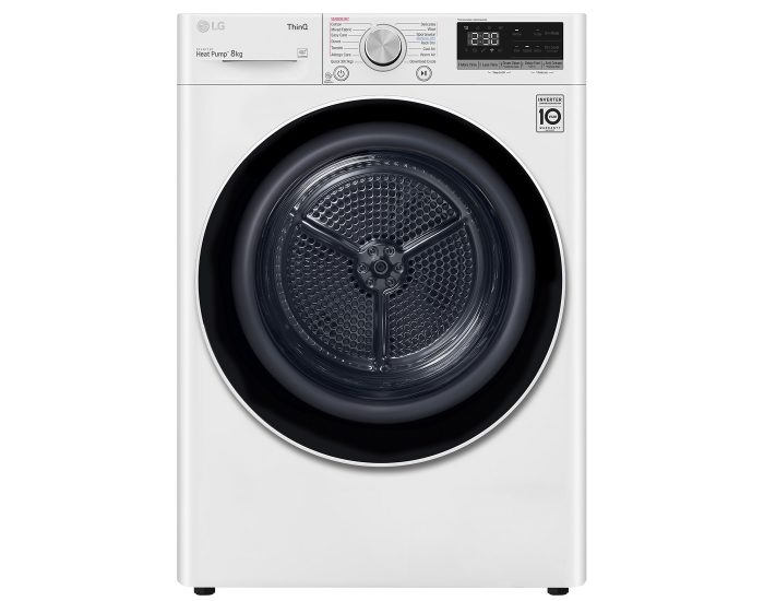 LG DVH508W Series 5 8Kg Heat Pump Dryer main