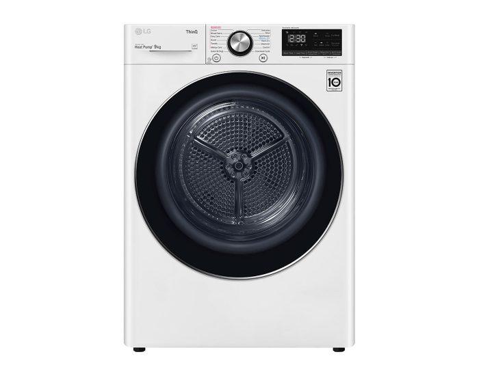 LG DVH909W 9kg Heat Pump Dryer Main