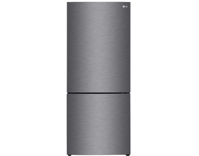 LG GB455UPLE 454L Bottom Mount Fridge Dark Graphite Main