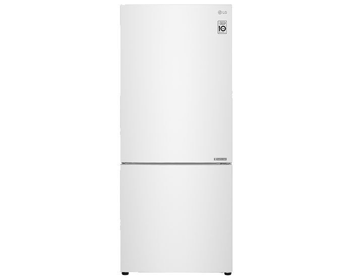 LG GB455WL 454L Bottom Mount Fridge White Main