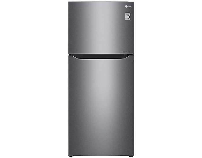 LG GT427HPLE 427Lt Top Mount Fridge in Dark Graphite Finish Main