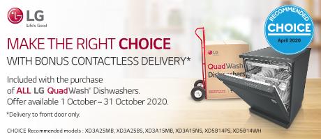 2020 LG Quadwash Delivery slider
