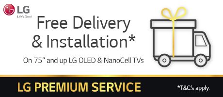 LG Free Delivery and Installation