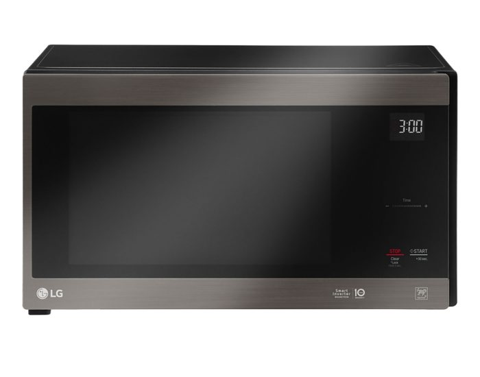 LG MS4296OBSS 42L Smart Inverter Microwave Oven in Black Stainless Steel Main