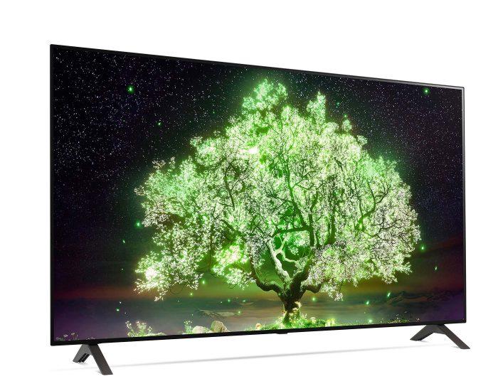 LG 55inch OLED A1 Series Smart TV OLED55A1PTA Angle